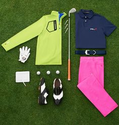 Dress Like A Champion: Shop looks from RLX Golfers Billy Horschel and Luke Donald.
