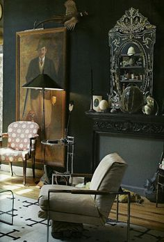A gentleman's room - Vintage Home Decor - Antique Home Decor ideas