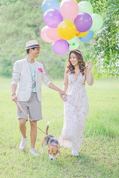 engagement session / prenup with dogs by Foreveryday Photography