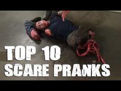 Top 10 Funniest Scare Pranks [2015]