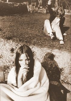 Brian Jones and Penelope Tree. Photograph by David Bailey, 1960's.