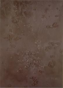 Olga Carol Rama (Carolrama) Senza titolo, 1961 Tecnica mista su tela, 30 X 40,5 cm Gallerie d'Italia - Piazza Scala, Milano.