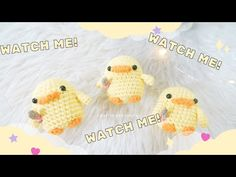 Duck with a Knife Meme Amigurumi Tutorial - YouTube Crochet Patterns Amigurumi, Knit Crochet, Crochet Hats, Kawaii Crochet, Amigurumi Tutorial, Knitted Dolls, Felicia, Crochet Animals, Goblin