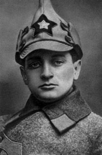 Marshal Mikhail Tukhachevsky, Soviet Red Army commander during the Russian Civil War, later the chief architect of the Red Army's modernization during the early 1930s. Purged by Joseph Stalin in 1937.