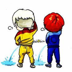 GD and TOP #Fanart #Bigbang #MadeSeriesE