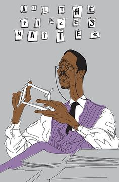 Lester Freamon, The Wire The Wire Tv Show, The Wire Hbo, Best Tv Shows, Best Shows Ever, Favorite Tv Shows, Popcorn Times, Screen Print Poster, Poster Wall, Movie Lines