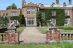 """Not open to the public but it can be hired as a film location. It has been used as a location for the Rosemary & Thyme episode """"Swords into Ploughshares"""". Country Estate, Filming Locations, Exterior, Mansions, Swords, House Styles, Gallery, Castles, Public"""