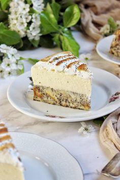 Mákos guba torta – Ízből tíz Cheesecake, Christmas Lunch, Guam, Vanilla Cake, Nutella, Cake Recipes, Food And Drink, Yummy Food, Sweets