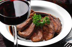 Receita de molho de vinho tinto para carnes
