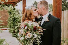 Wine Themed Wedding at Balistreri Vineyards |  Denver via Rocky Mountain Bride