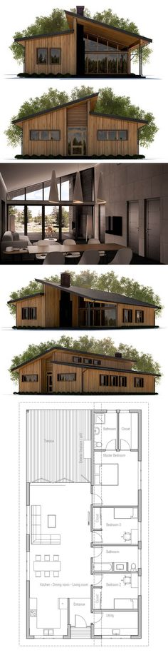 Container House - Container House - kleines Haus, Hausplan - Who Else Wants Simple Step-By-Step Plans To Design And Build A Container Home From Scratch? Who Else Wants Simple Step-By-Step Plans To Design And Build A Container Home From Scratch? Modern House Plans, Small House Plans, House Floor Plans, Building A Container Home, Container House Plans, Container Homes, Future House, My House, Casas Containers
