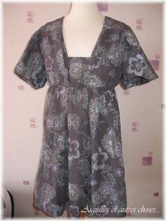 modèle gratuit couture tunique 15