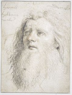Hans Holbein the Elder, Self-portrait, 13 x 10 cm, silverpoint and red chalk on paper, circa 1516 (Musée Condé, Chantilly, France). Much less known than his son, Hans Holbein the Elder was one the most accomplished late Gothic painters and also one of the earliest adopters of the Renaissance style in Germany. He produced this subtle and arresting self-portrait in his fifties, probably as a preparatory drawing, since a very similar image appears in one of his altarpieces.
