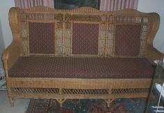Titanic Wicker Sofa from Film Titanic 1997