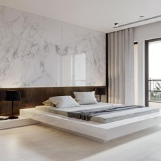 Shop The Look: Luxurious Interior Design Project Room Design Bedroom, Master Bedroom Interior, Modern Master Bedroom, Home Room Design, Home Interior, Home Decor Bedroom, Interior Design, Luxury Interior, Modern Tv Room