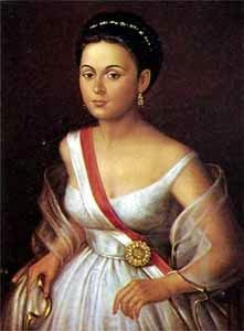 Manuela Saenz participated in the Venezuelan/Latin American revolutionary wars. She was the lover of Simon Bolivar and was also a colonel in the military. Born in Quito, New Granada[Ecuador] during Spanish colonial rule. American Revolutionary War, American War, Latina, Der Richter, American Independence, Women In History, Mistress, Strong Women, South America