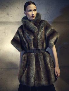 73c20713bca Fendi Fur Collection A W 2014-15 Fox Fur Vest