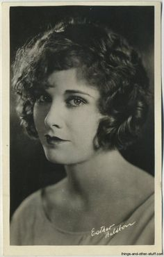 Esther Ralston ~ 1920's Real Photo Postcard on Immortal Ephemera