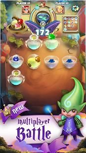 Achieve different objectives by combining matching potions in this innovative and dynamic puzzle gameplay.