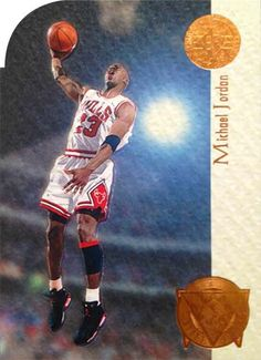 94-95 Michael Jordan SP Playoff Heroes Die-Cut