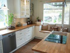 Villa Wallebeck: Keittiön tunnelmia... Decor, Home And Garden, Dream Kitchen, House, Interior, Kitchen Cabinets, Kitchen, Sweet Home, Interior Design