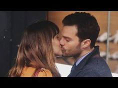"""Fifty Shades Darker"" is Filming   See pics of Dakota Johnson and Jamie Dornan's steamy kiss"