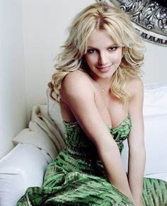Britney Spears photoshoot by Cliff Watts in 2006.