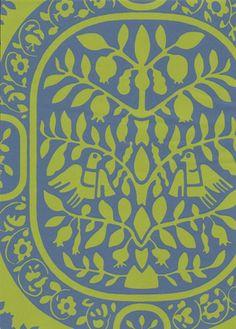 Paratiisi wallpaper from Tapettitalo by Ritva Kronlund