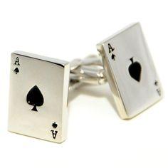 Aces Cufflinks