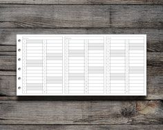 FREEBIE: 2017 LIST FOLD OUT | Peanuts Planner Co