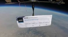'First protest in space' targets Trump with an astronaut's famous words - The Washington Post