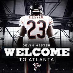 Welcome to Atlanta!!! Devin Hester