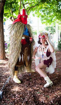 (Need Credits) - San and Ashitaka (Princess Mononoke)