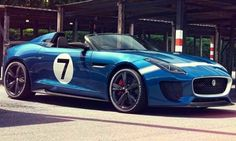 2013 Jaguar Project 7 Concept: 5.0 Liter V8 Supercharged DOHC with 545 Horsepower. 0 to 60 mph in 4.2 seconds. Top Speed of 186 mph.