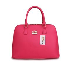 Coach City In Logo Large Fuchsia Satchels BKZ Give You The Best feeling!
