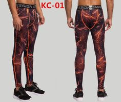 Mens Compression Pants Crossfit Tights Men Bodybuilding Pants Trousers Camouflage Joggers
