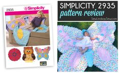 Simplicity 2935 Rag Quilt - Pattern Review on SewLindsaySew.com