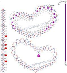 ZONA DE MANUALIDADES: Collares, pulseras y aretes con gráfico