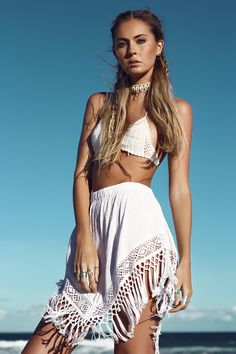"Freedom State ""Beach Collection"" Summer Style :: Beach Boho :: Festival Outfits :: Gypsy Soul :: Bohemian Beauty :: Hippie Spirit :: Free your Wild :: See more Untamed Fashion + Style Inspiration Gypsy Style, Boho Gypsy, Hippie Style, Bohemian Style, Moda Hippie, Hippie Chic, Boho Outfits, Summer Outfits, Look Boho"