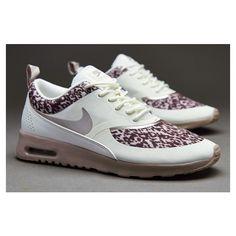 Nike Sportswear Womens Air Max Thea Print - Sail / Med Orewood Brown /... ($98) via Polyvore