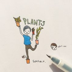 Phil with his plants damn ☘