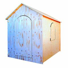 PLAYHOUSE: is a wooden house easy to assemble fun by GNusFurnITure