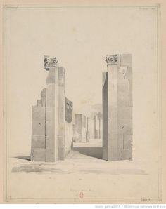 henri labrouste, pompeii, 1826