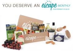Enter to win an Escape Monthly box from Woman Tribune
