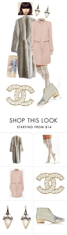 """""""Untitled #408"""" by jeauhall ❤ liked on Polyvore featuring Urban Outfitters, Alexander McQueen, Stephen Webster, Zoe Lee and Nancy Gonzalez"""
