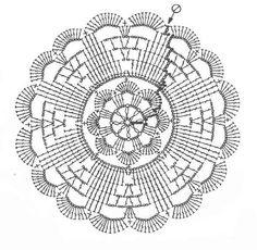 121 beste afbeeldingen van Crochet patterns doilies