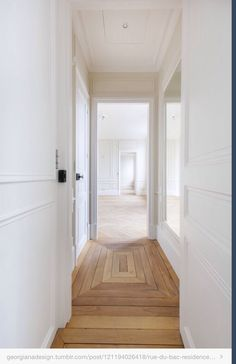corridor #white