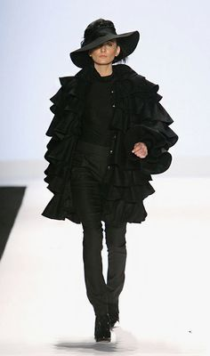 project runway season 4 Finale Christian Siriano Fall 2008 RTW Shows in New York