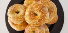 Original amerikanisches Bagel Rezept American Breakfast, Breakfast Bagel, American Food, Dim Sum, Bon Appetit, Bread Recipes, Gluten Free, Snacks, The Originals