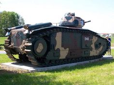 The Char B1 was a French heavy tank manufactured before World War II...